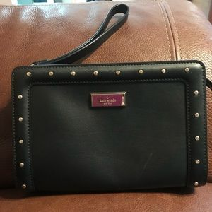 Kate Spade Wristlet 100% Genuine Leather